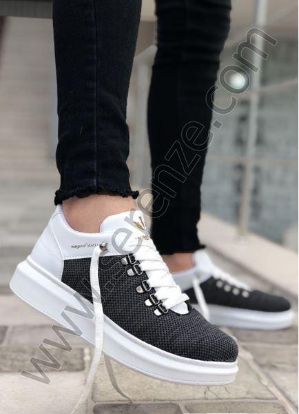 Füme Keten Yazlık Erkek Spor Ayakkabı