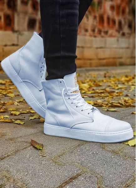 Serenze Jacob Bot Model Beyaz Spor Ayakkabı