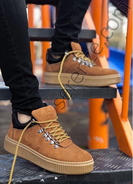 Taba Nubuk Kancalı Erkek Trekking Ayakkabı
