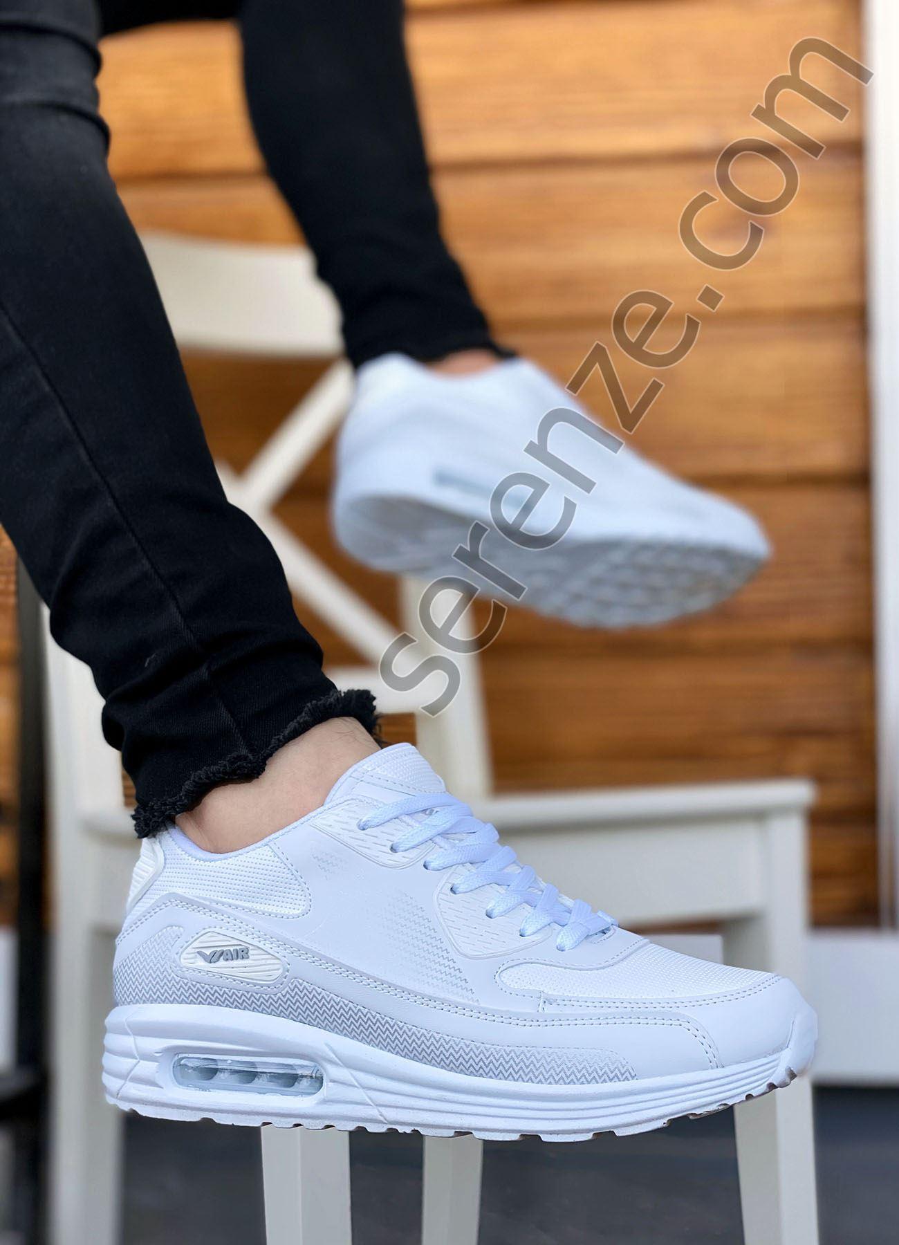 AirMax Beyaz Erkek Spor Ayakkabı