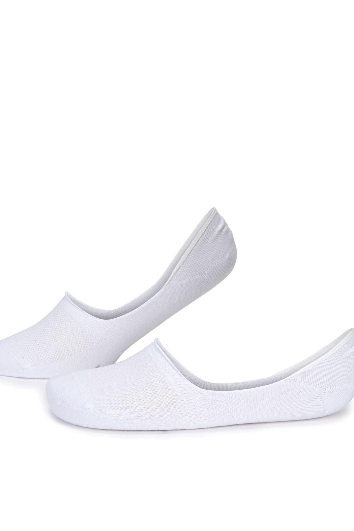5 Adet Beyaz Erkek Babet Çorap (40-44)