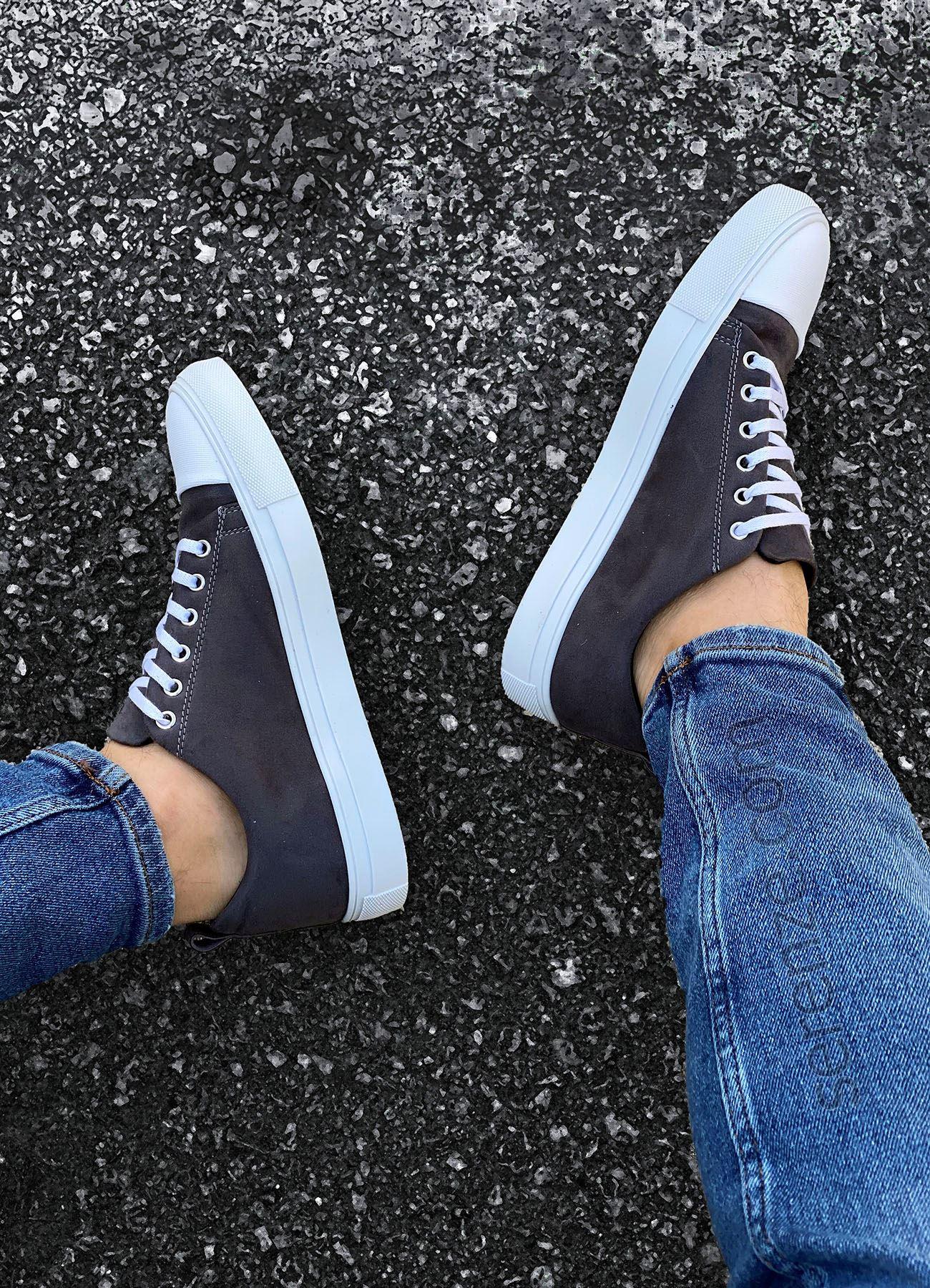 Füme Nubuk Erkek Spor Ayakkabı