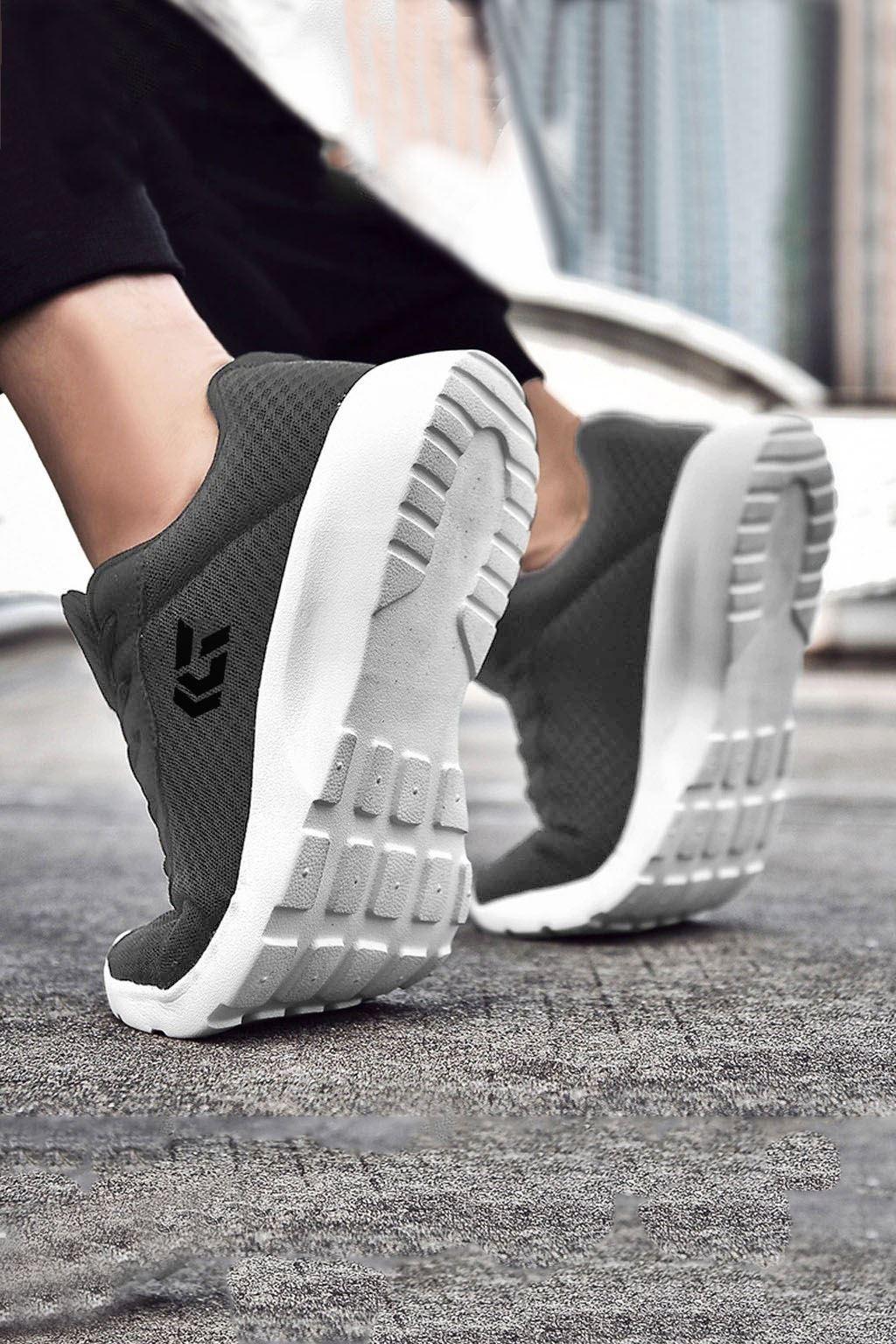 Füme Ultra Hafif Erkek Spor Ayakkabı