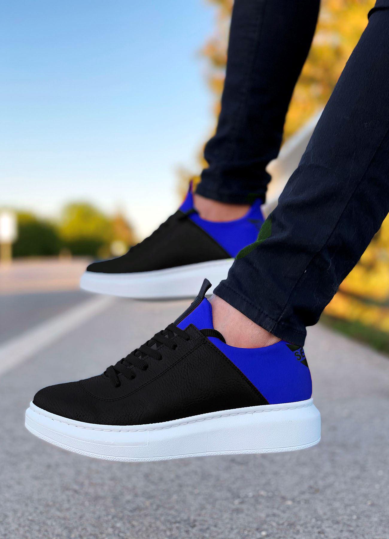 Serenze Mavi Siyah Erkek Spor Ayakkabı