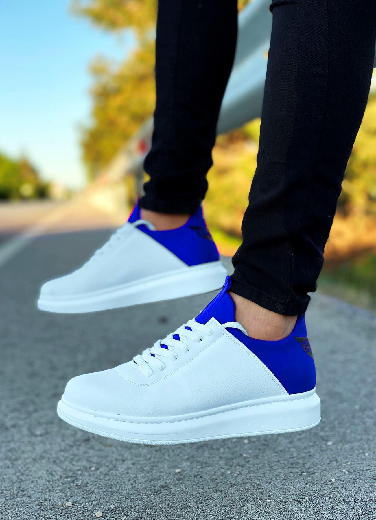 Serenze Mavi Beyaz Erkek Spor Ayakkabı