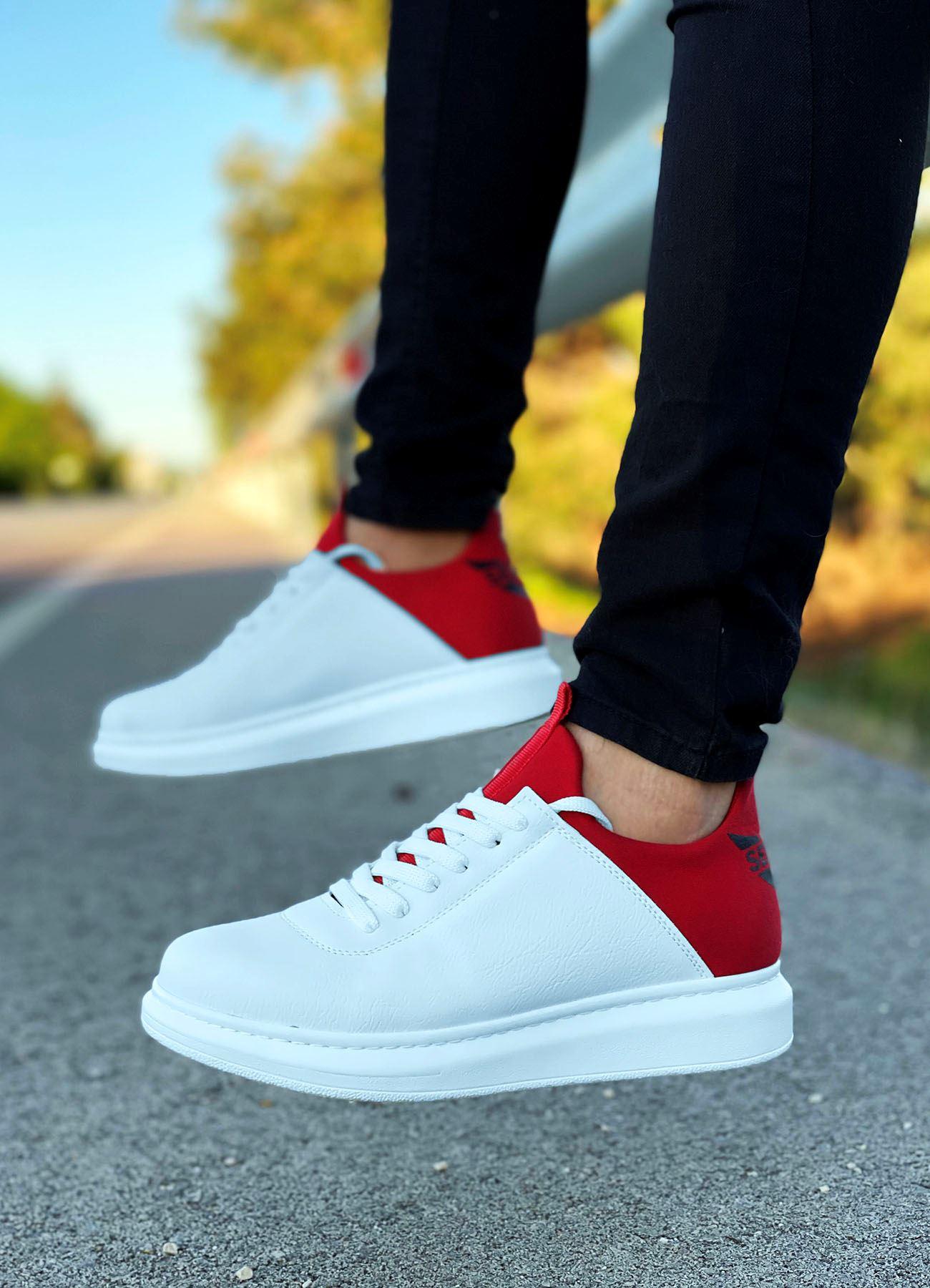 Serenze Kırmızı Beyaz Erkek Spor Ayakkabı