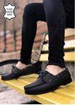 Siyah Klasik Hakiki Deri Erkek Ayakkabı
