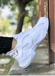 Beyaz Mekanik Ultra Hafif Erkek Spor Ayakkabı