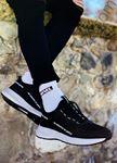 Siyah Yazı Detay Erkek Spor Ayakkabı