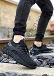 Siyah Triko Erkek Spor Ayakkabı