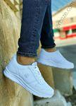 Beyaz File Erkek Triko Spor Ayakkabı