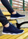 Lacivert Triko Erkek Spor Ayakkabı