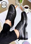 Siyah Hakiki Deri Erkek Ayakkabı